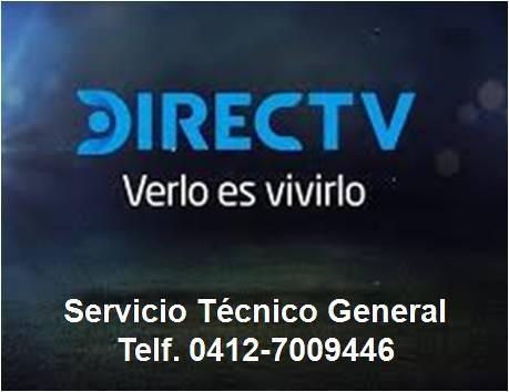 servicio tecnico, venta, instalación de directv