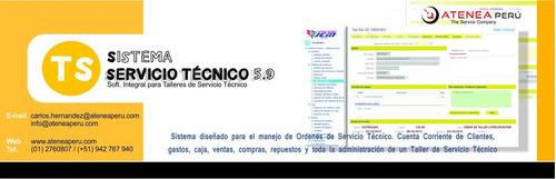 servicio técnico ventas y repuestos