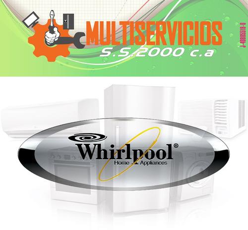 servicio tecnico whirlpool fabricador de hielo autorizado