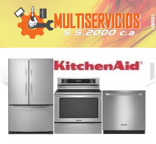 servicio tecnico whirlpool kitchenaid fabricador nevera