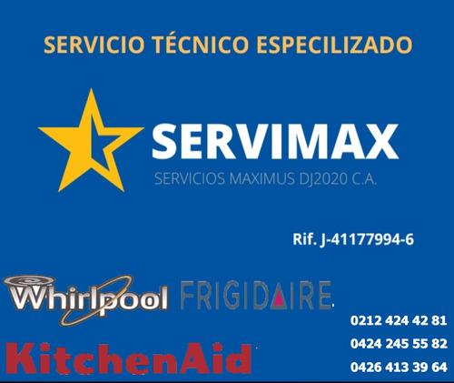 servicio técnico whirlpool kitchenaid frigidaire