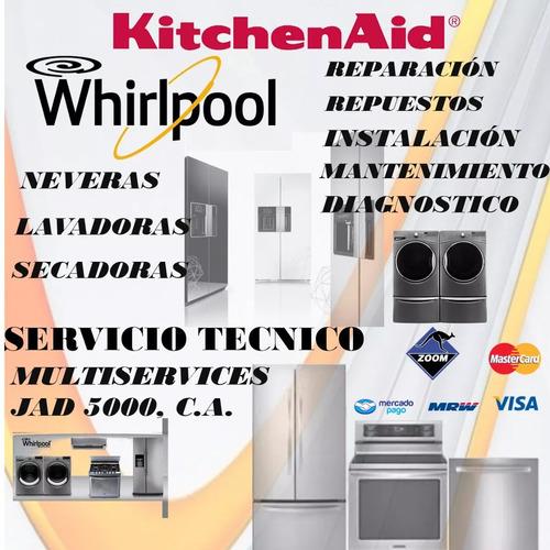 servicio técnico whirlpool kitchenaid nevera lavadora secado