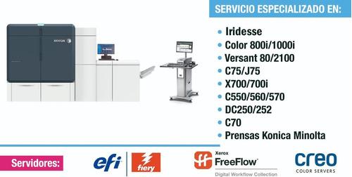 servicio técnico xerox y konica