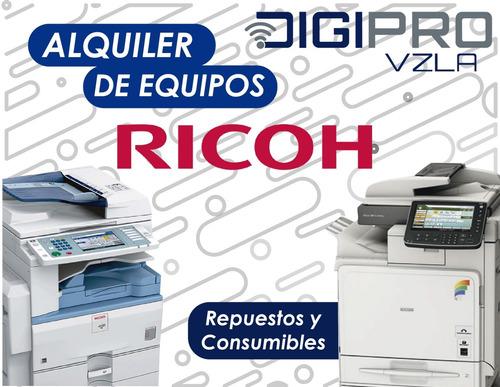 servicio técnico y alquiler de fotocopiadoras ricoh