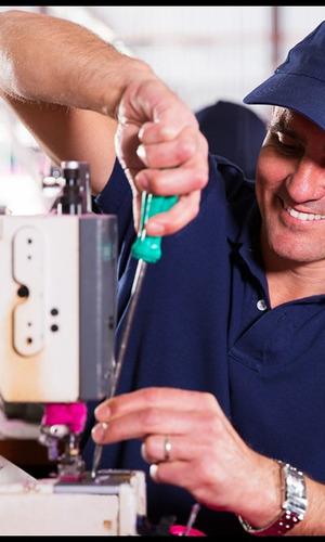 servicio técnico y curso de máquinas de coser.