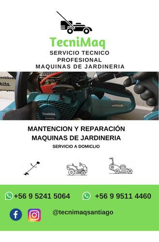 servicio tecnico y mantencion de maquinas de jardineria