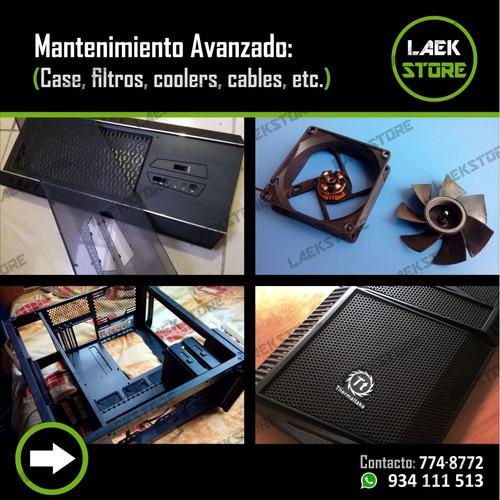 servicio técnico y mantenimiento de computadoras - laptops