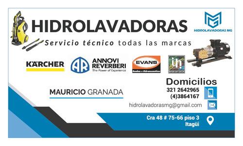 servicio tecnico y mantenimiento de hidrolavadoras