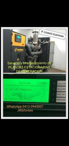 servicio técnico y mantenimiento en todo tipo de generadores
