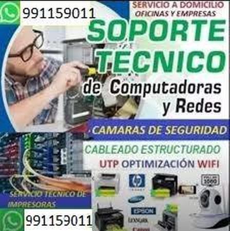 servicio técnico y redes de computadoras