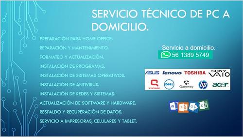 servicio técnico y reparación de computadoras y celulares