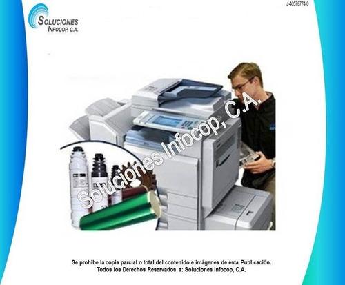 servicio técnico y reparación de fotocopiadoras canon