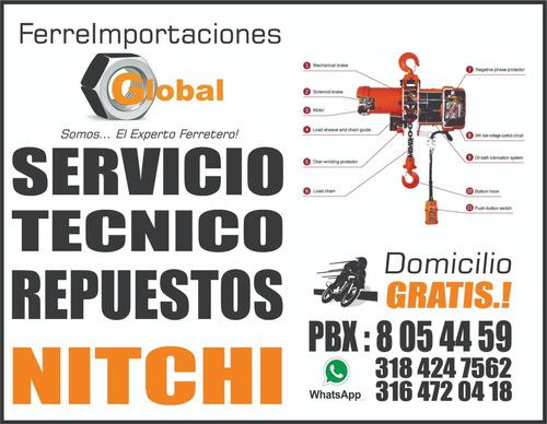 servicio técnico y repuestos para diferenciales polipastos