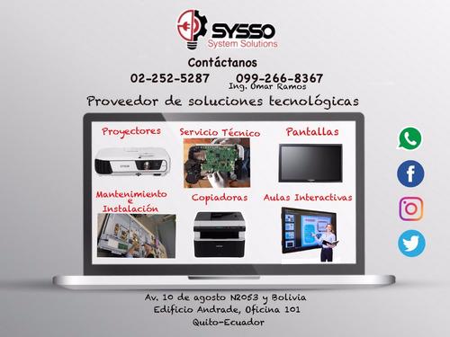 servicio técnico y venta impresoras,proyectores,cámaras cctv