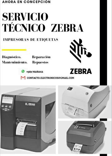 servicio tecnico zebra en terreno, concepción y alrededores