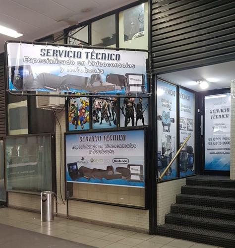 servicio tecnico/reparacion/xbox360-ps2-ps3-wii / caballito