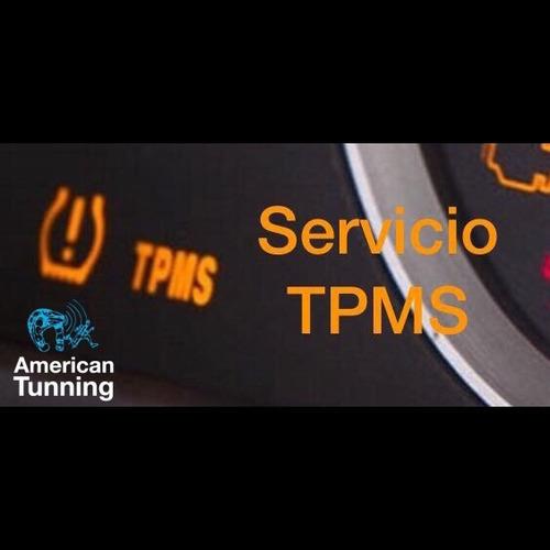 servicio tpms diagnóstico programación sensores