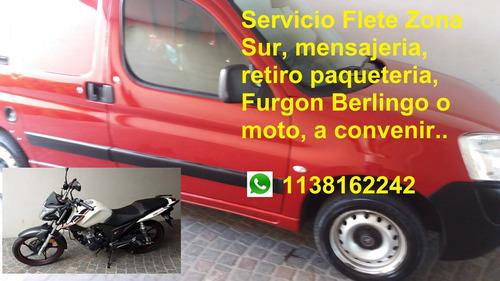 servicio transporte mudanza minifletes mensajería en moto