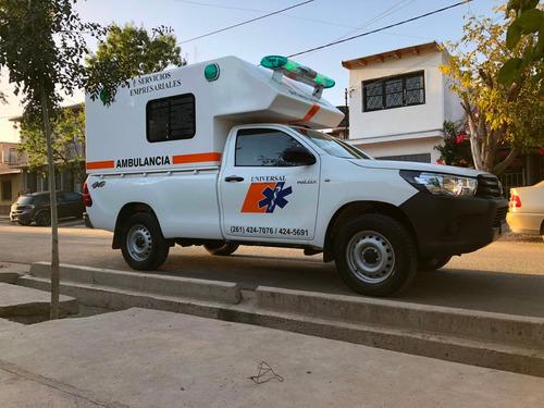 servicio traslados alquiler ambulancia 4x4 médico enfermería