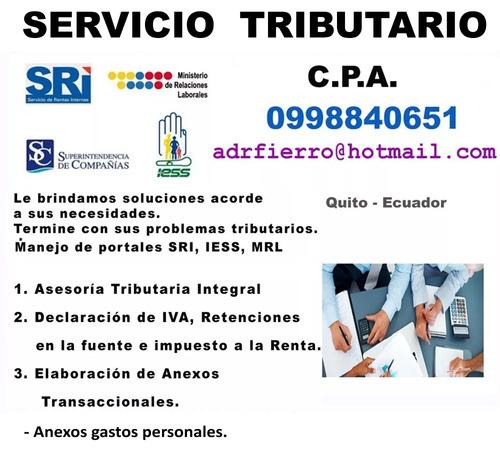 servicio tributario