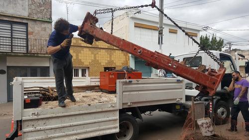 servicio tunelería horizontal dirigida - equipamiento propio
