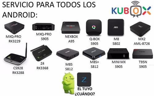 servicio tv box android config + instal apps + clase demostr