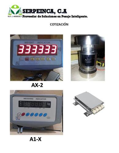 servicio. venta balanzas. celdas de carga e indicadores