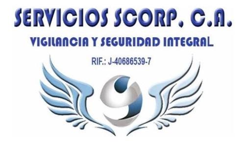 servicio vigilancia privada,  servicios scorp, c.a.