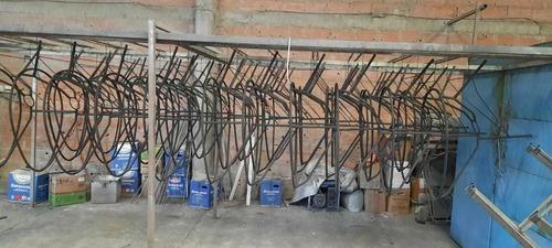 servicio y aplicación de pintura al horno electroestatica en