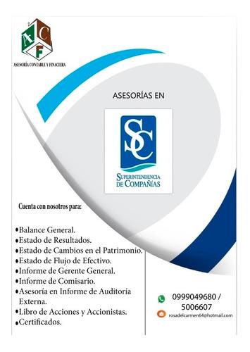 servicio y asesoría contable