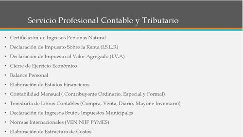 servicio y asesoría, contable, tributaria, legal y fnanciera