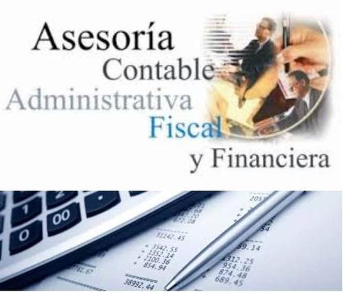 servicio y asesorías administrativas,contables yfinancieras