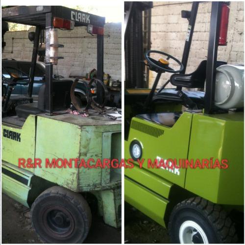 servicio y reparación de montacargas y maquinarias