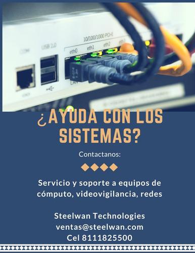 servicio y soporte a equipo de computo y video-vigilancia