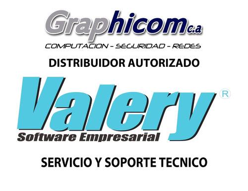 servicio y soporte tecnico para valery® venta de licencias