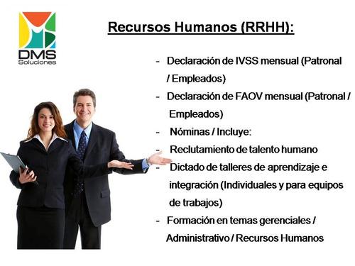 servicios administrativos - contables