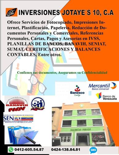 servicios administrativos y contables