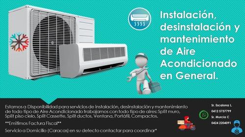servicios aire acondicionado