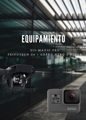 servicios audio visuales con drones