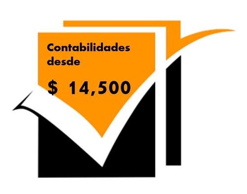 servicios contables $ 14.500 fijos mensuales