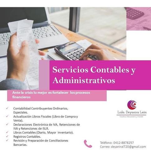 servicios contables, administrativos y asistente virtual