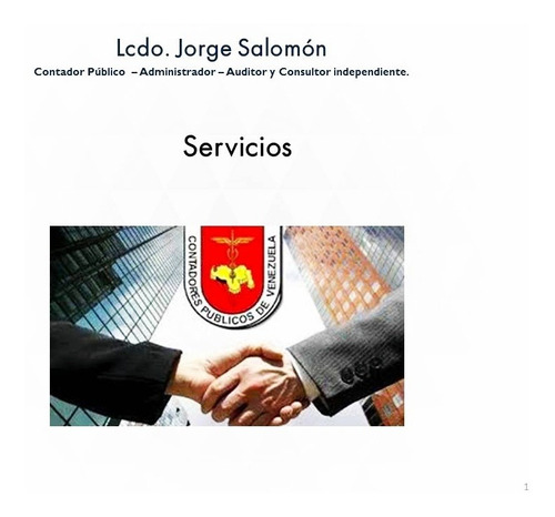 servicios contables, administrativos y de auditoría