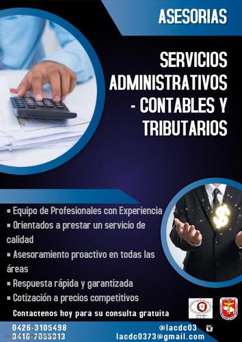 servicios contables administrativos y tributarios