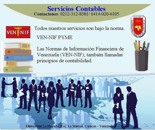 servicios contables - contador publico colegiado
