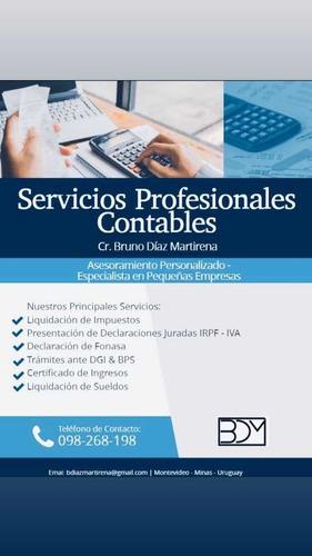 servicios  contables, declaraciones juradas de irpf