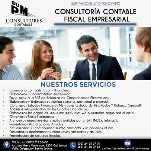 servicios contables, fiscales y financieros