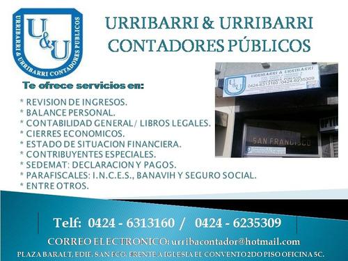 servicios contables (maracaibo-zulia) contador publico