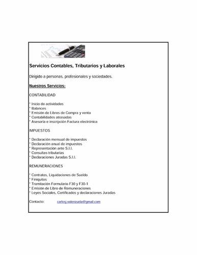 servicios contables para pyme
