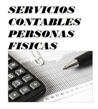 servicios contables, personas físicas,contadora.