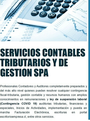 servicios contables tributarios y de gestión